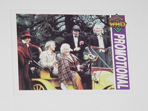 Doctor Who Trading Card Promo A2 Time Lord & Compa