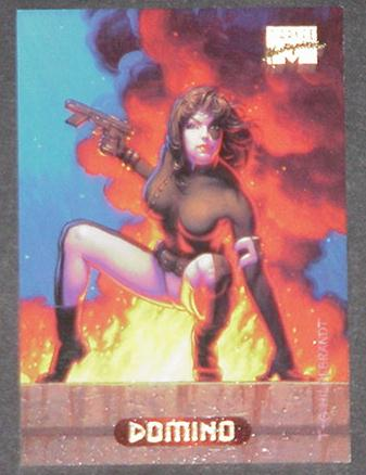 Domino Trading Card Cable X-Force Greg Tim Hildebr