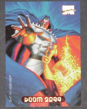 Doom 2099 Trading Card Doctor Doom Greg Tim Hildeb