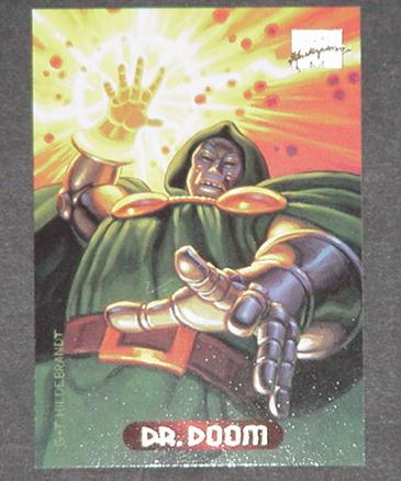 Dr Doom Trading Card Doctor Fantastic Four Greg Ti