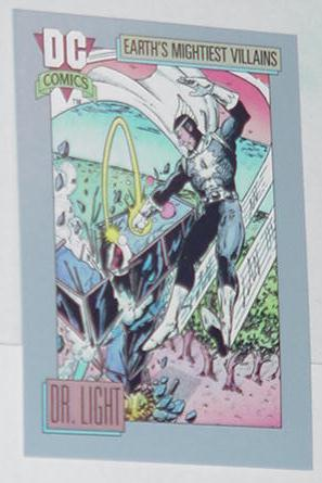Dr. Light 2 Trading Card Crisis on Infinite Earths