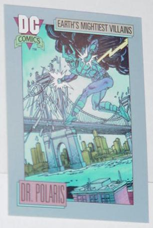 Dr. Polaris Trading Card Green Lantern