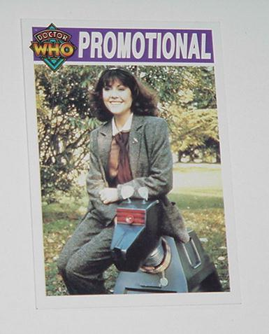 Doctor Who Trading Card Promo A3 Sarah Jane Smith