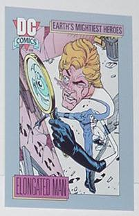Elongated Man Trading Card Identity Crisis