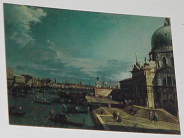 Entrance Of The Grand Canal Trading Card Antonio C