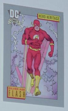 Flash Trading Card Silver Age