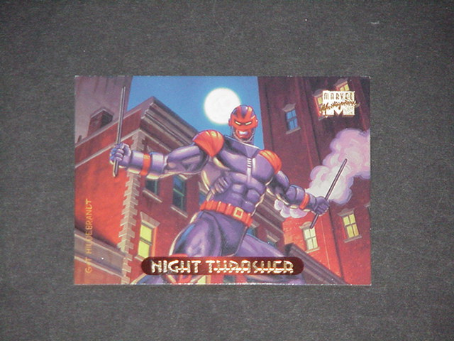 Night Thrasher Trading Card New Warriors Greg Hild