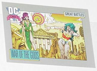 War of the Gods Trading Card Wonder Woman Circe
