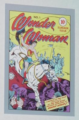 Wonder Woman Trading Card WW # 1 Cover