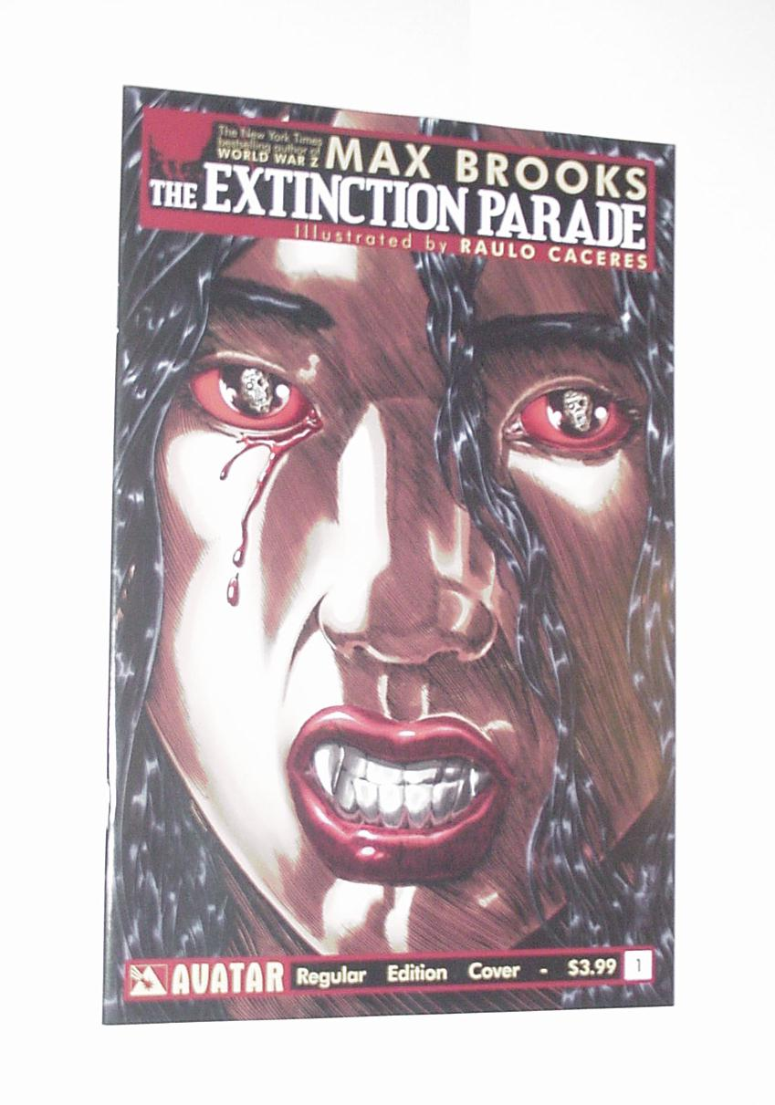 The Extinction Parade 1 NM Max Brooks Avatar 1st p