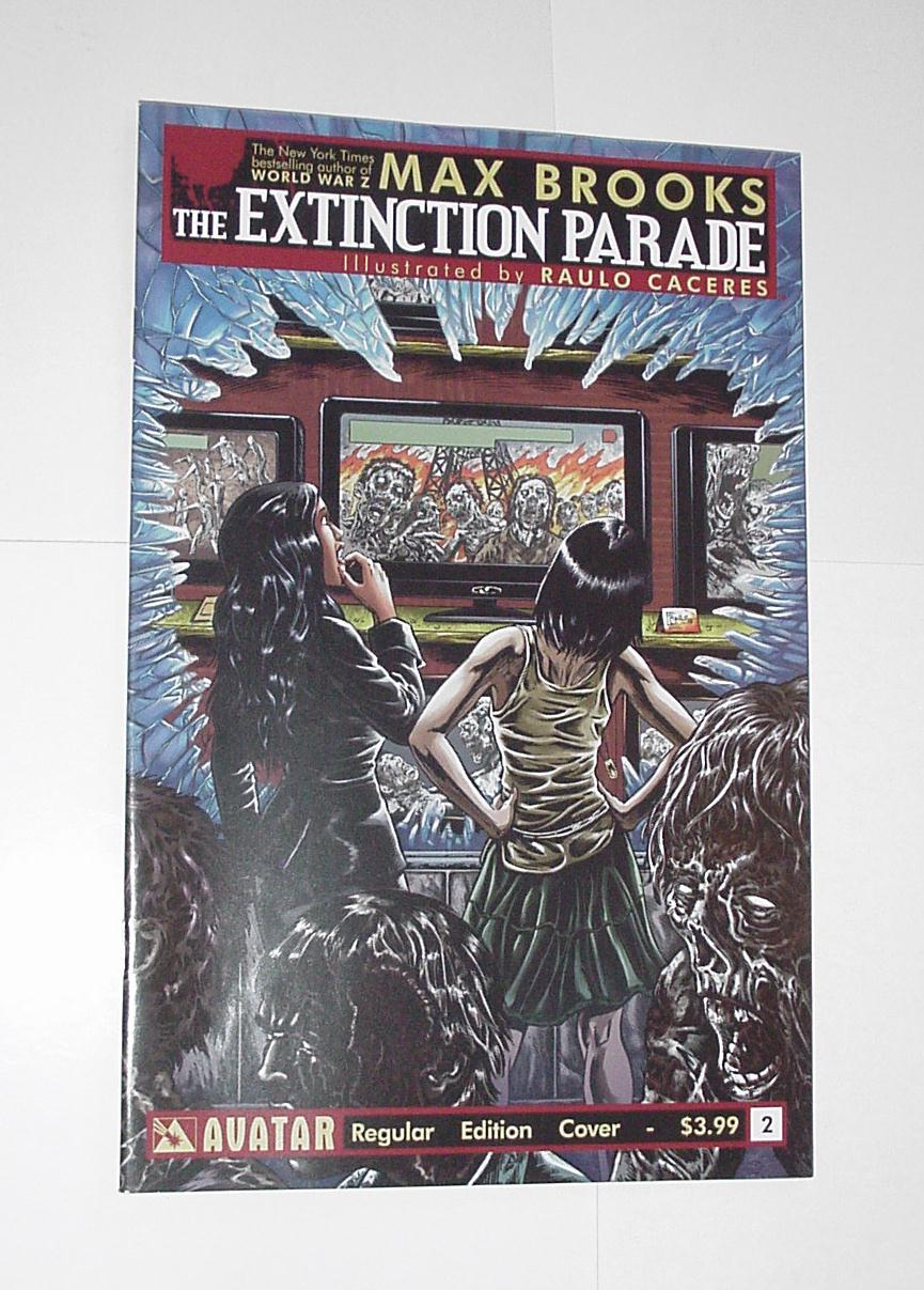 The Extinction Parade 2 NM Max Brooks Avatar 1st p