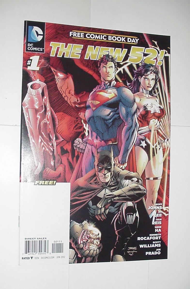 FCBD 2012 The New 52 # 1 Geoff Johns Jim Lee