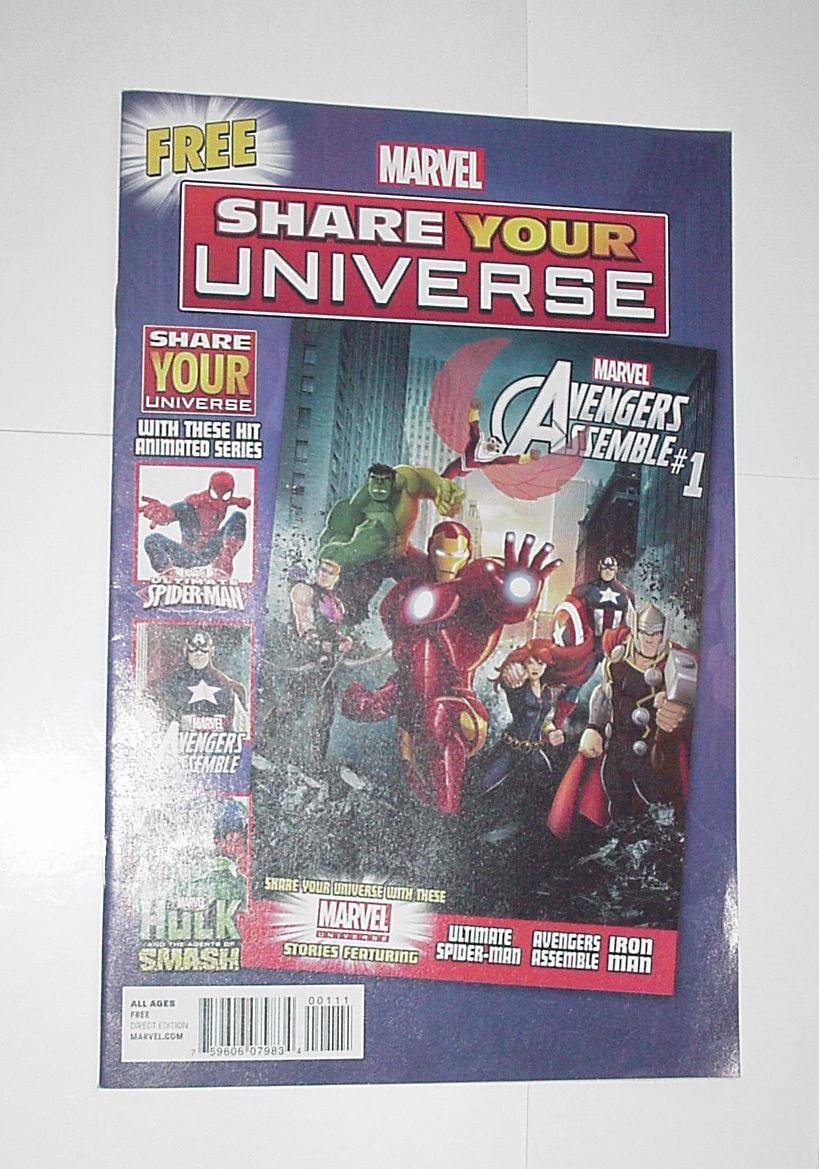 Marvel Share Your Universe Sampler 1 NM Avengers