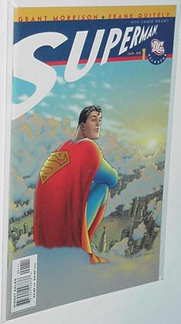 All Star Superman 1,2 Grant Morrison Frank Quitely