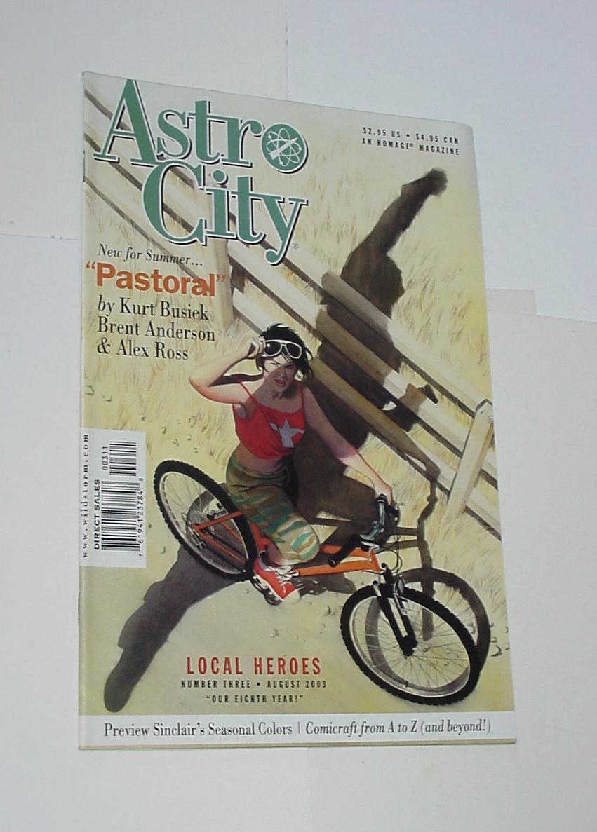 Astro City Local Heroes # 1-3,5 NM Brent Anderson
