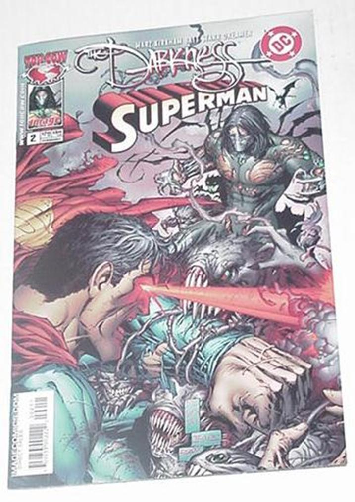 Darkness Superman # 1,2 Ron Marz Crossover!
