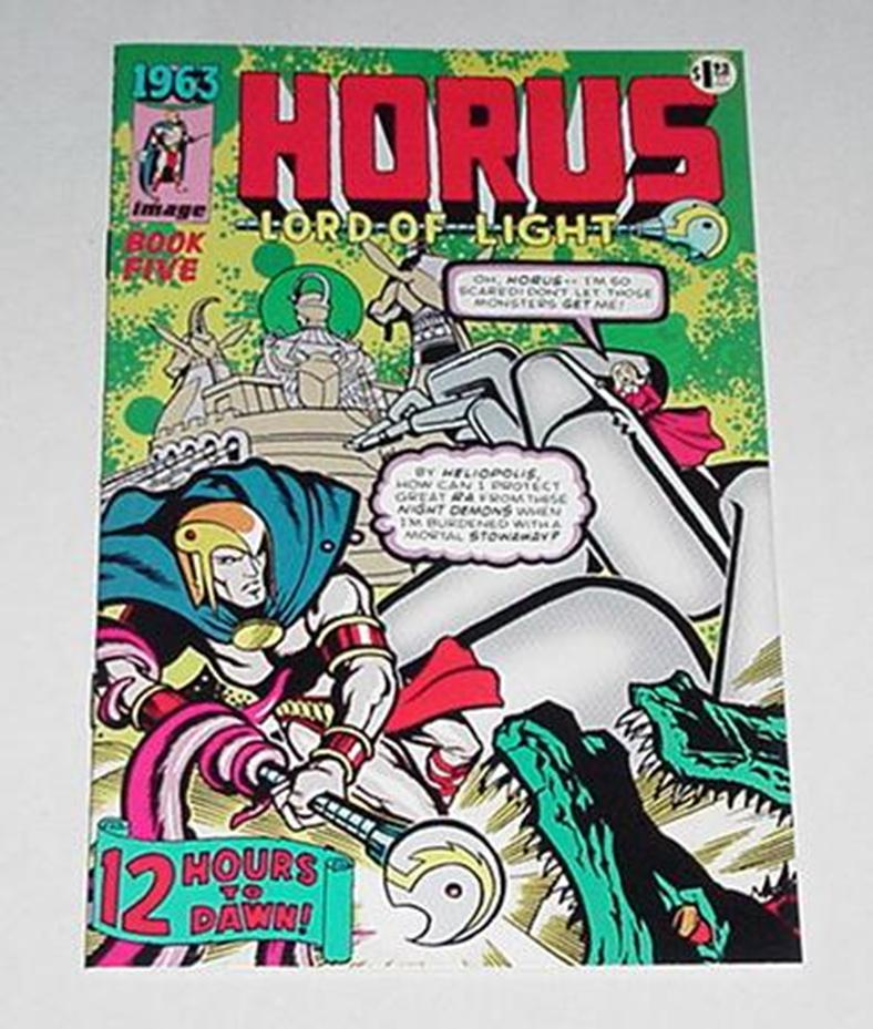 1963 Horus Lord of Light Ashcan 4 Alan Moore