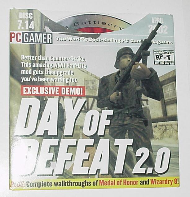 PC Gamer Disc 7.15 April 2002 Day of Defeat 2.0