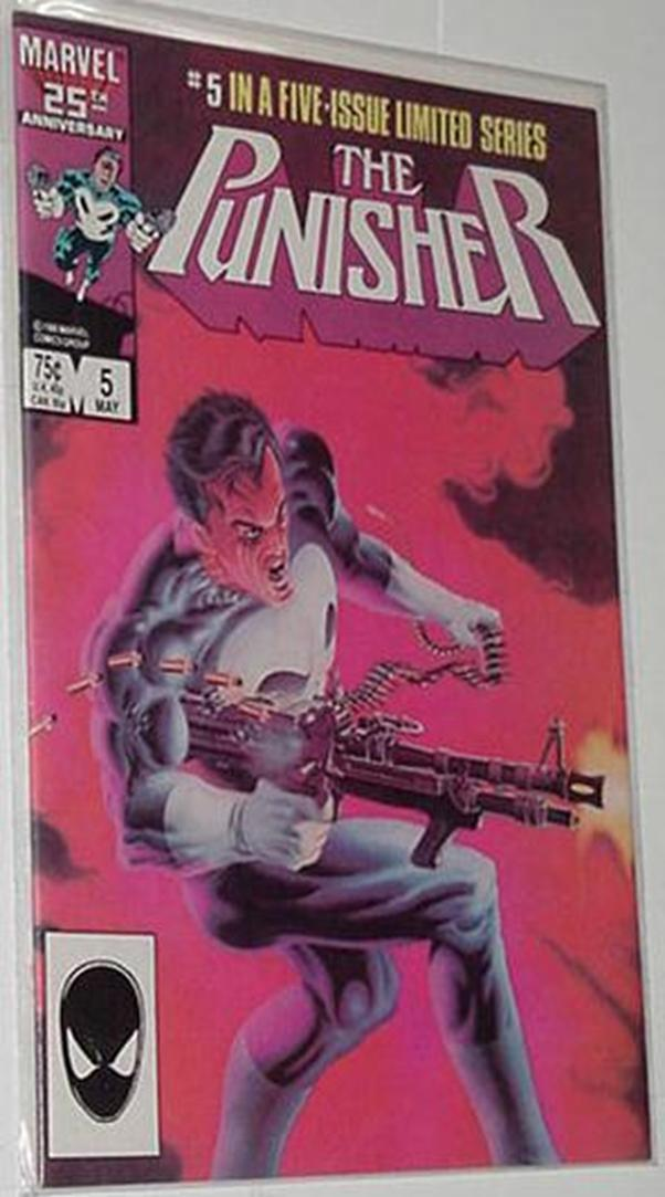 Punisher v1 # 1,2,3,4,5 Legendary Mini Mike Zeck
