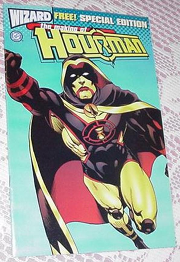 Wizard Special Edition Hourman Rags Morales Art