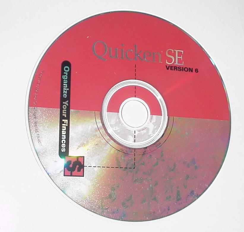 Quicken SE Version 6 CD-Rom