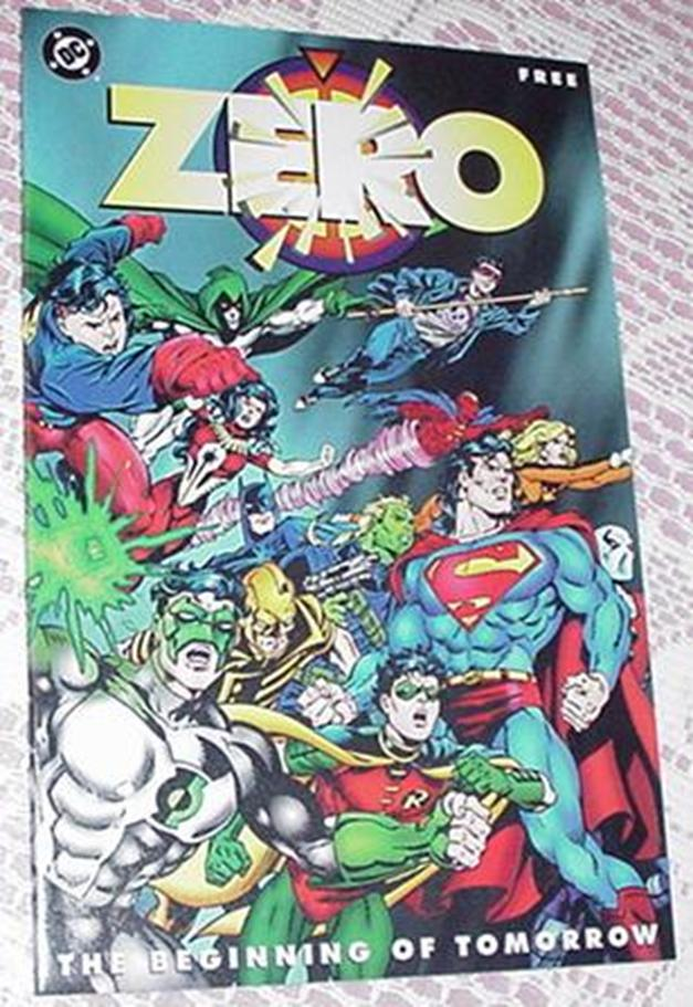 Zero Hour The Beginning of Tomorrow NM DC 16 pages