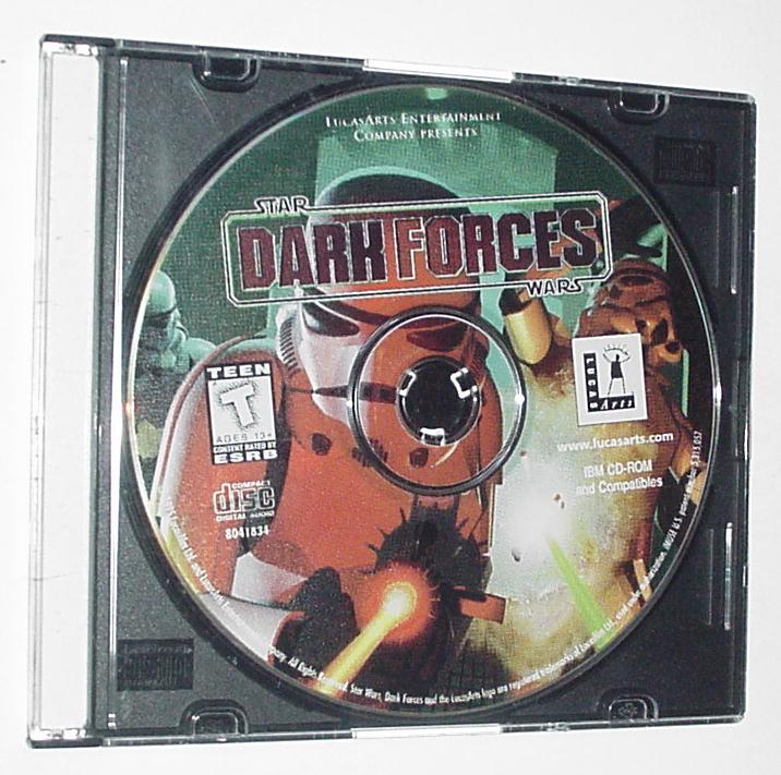 Star Wars Dark Forces PC Disk Only