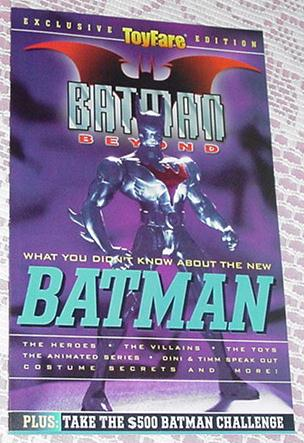 Toyfare Mini Guide: Batman Beyond NM Animated