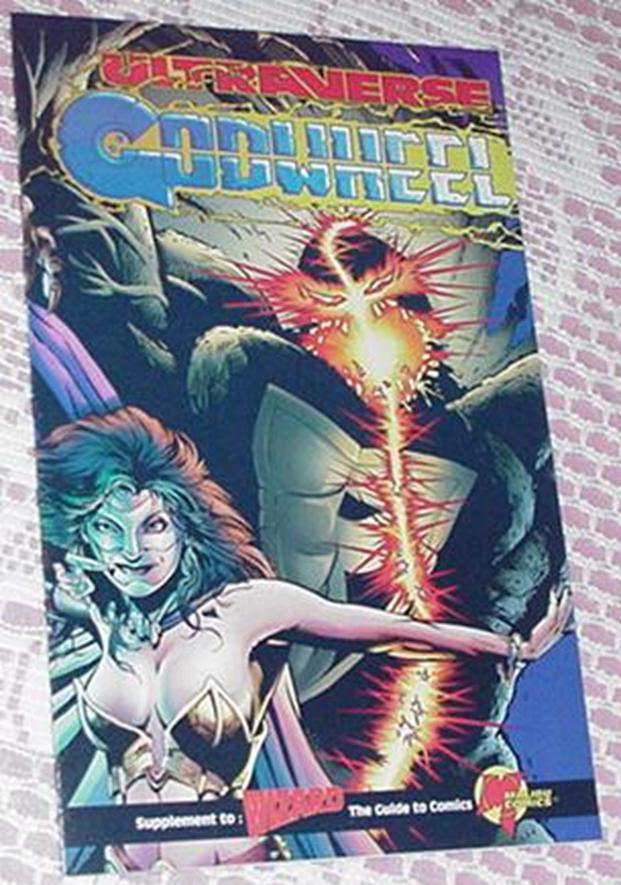 Ultraverse Godweel Mini Ashcan Malibu Chris Ulm