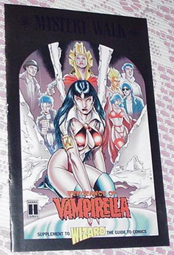 Vengeance of Vampirella Mystery Walk Mini Comic