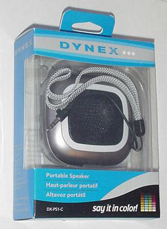 Dnyex Portable Speaker DX-PS1-C NIB Gray Bicycling
