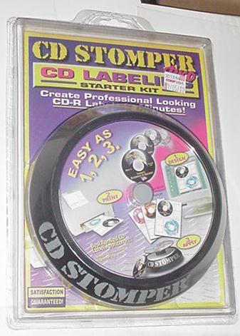 Avery CD Stomper Pro CD Labeler SEALED 10 labels!
