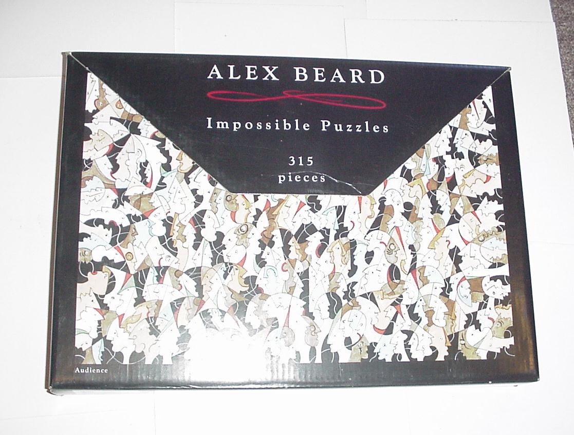 Alex Beard 315 Piece Impossible Puzzle Easel Stand