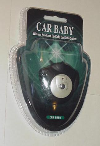 Car Baby Wireless Handsfree Car Kit AFC-308/308D