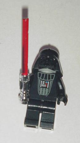 Darth Vader Lego w Removable Helmet / Scarred Face