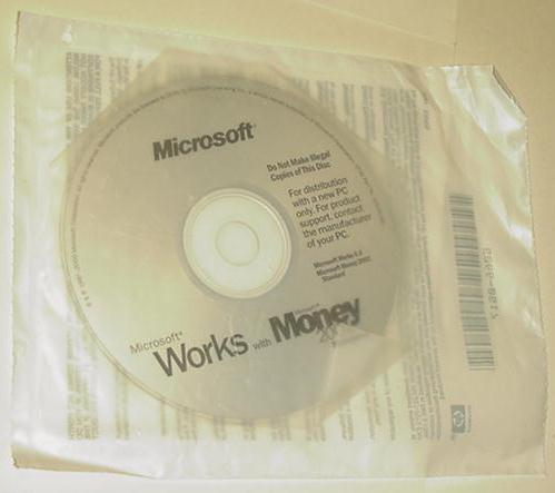 Microsoft Works with Money 2001 Standard SEALED