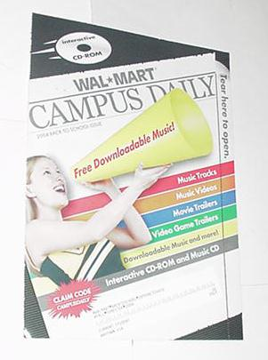 WalMart Campus Daily 2004 CD Video Game Trailers