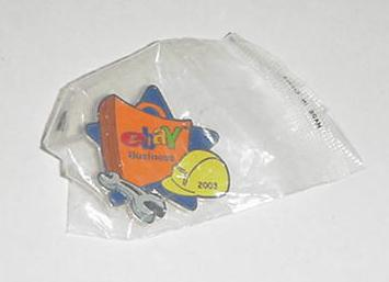 eBay Live 2003 Business Pin SEALED