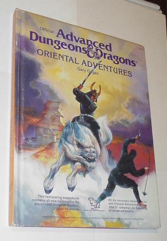 AD&D 1st Edition Oriental Adventures HC 2018