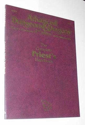 AD&D 2nd Edition Complete Priest's Handbook PHBR3