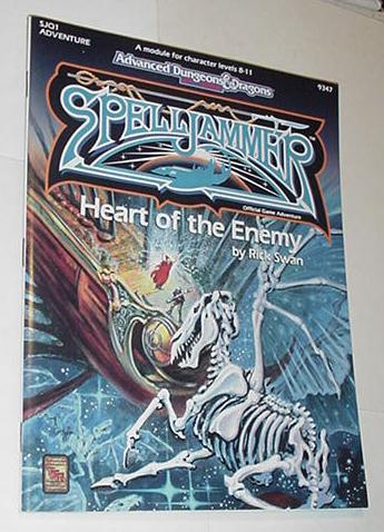 AD&D 2nd Edition Spelljammer Heart of the Enemy