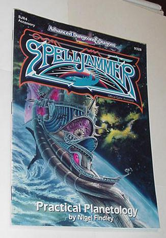 AD&D 2nd Edition Spelljammer Practical Planetology