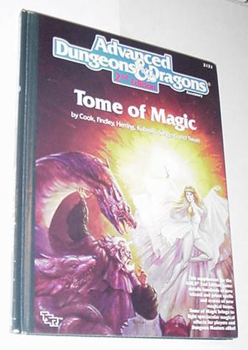 AD&D 2nd Edition Tome of Magic Hardcover TSR 2121