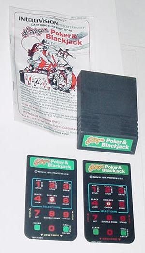 Intellivision Las Vegas Poker & Blackjack Game