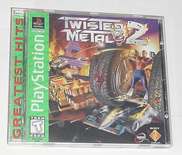 Playstation Twisted Metal 2 Case/Insert/Game