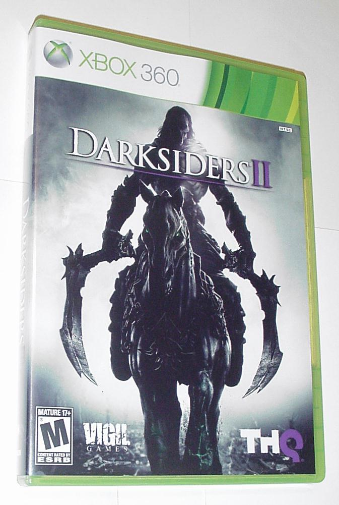Xbox 360 Darksiders II (2) Game+Case Joe Madureira
