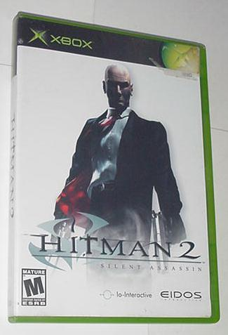 XBOX Hitman 2 Silent Assassin w Case Instructions