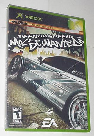 XBOX Need for Speed Most Wanted w Case + Instrux
