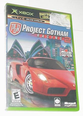 XBOX Project Gotham Racing 2 w Case NOT 360