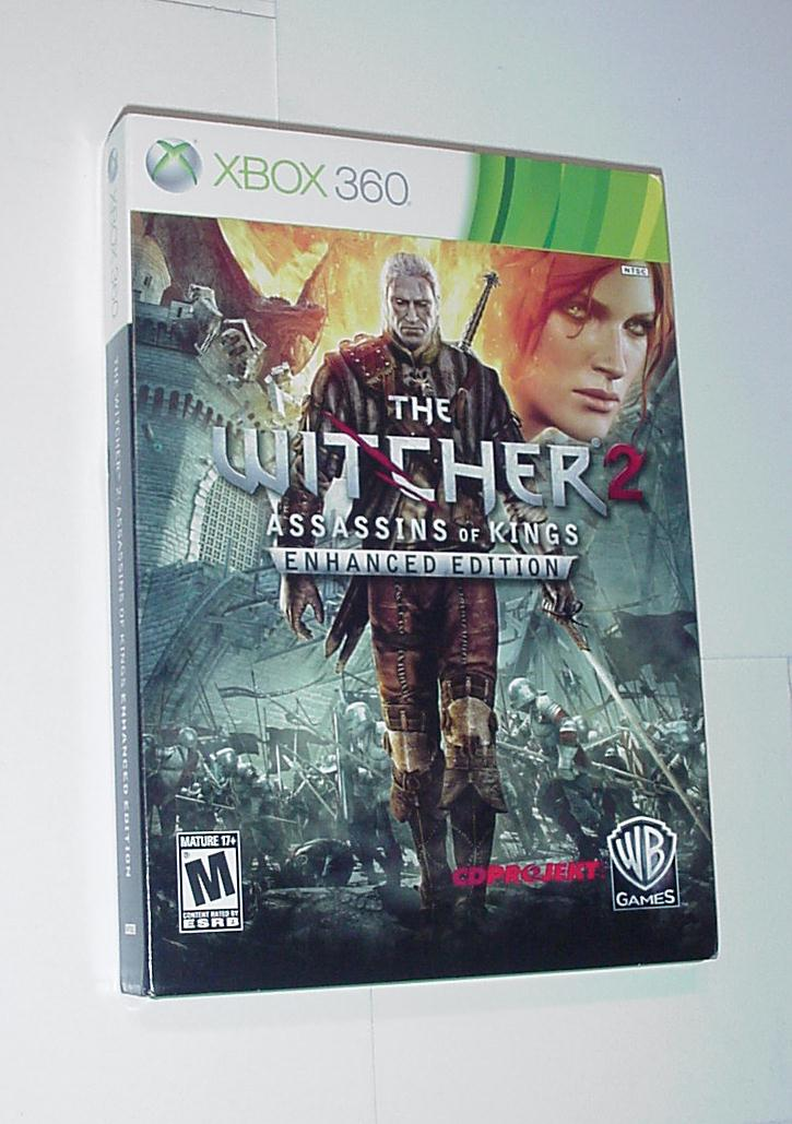 Xbox 360 Witcher 2 Assassins of Kings Enhanced Ed